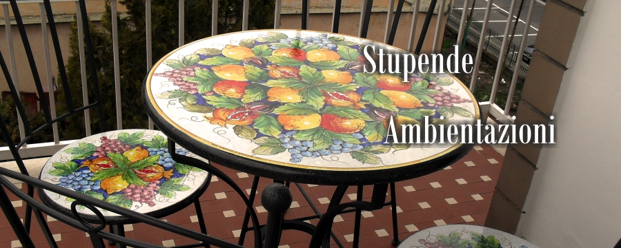 Tavoli in mosaico