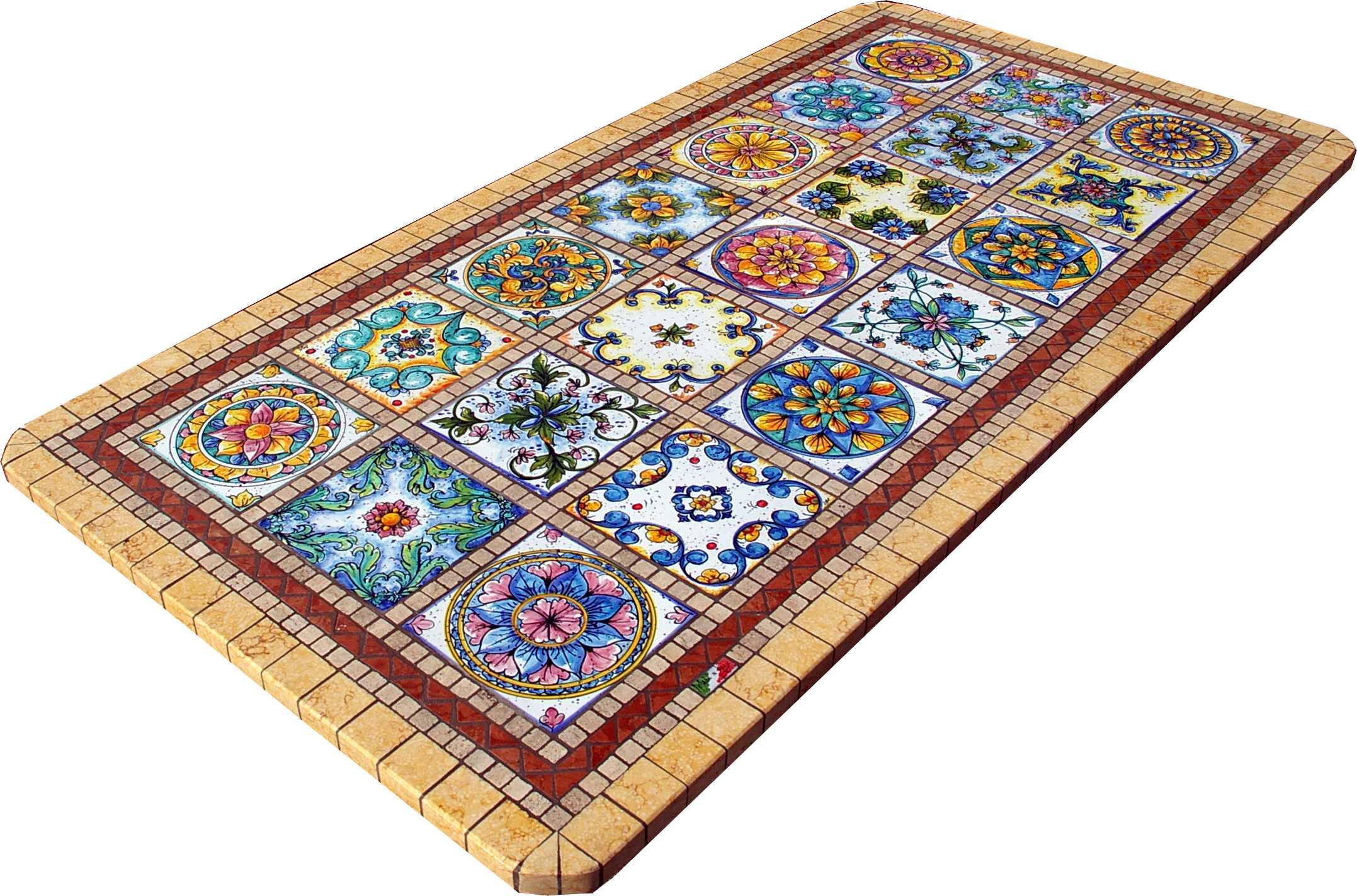 Prodotti - Tavoli in Mosaico