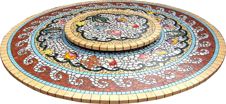 Tavoli in Mosaico - Rotondi